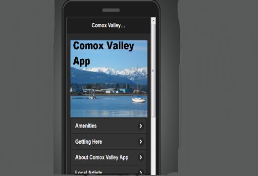 Comox Valley App poster