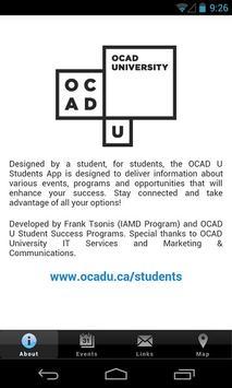 OCADU Students poster