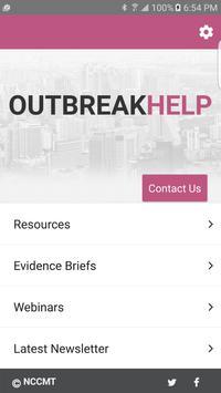OutbreakHelp poster