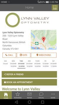 Lynn Valley Optometry poster