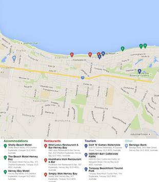 Hervey Bay Map apk screenshot