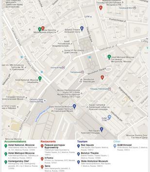 Moscow Map screenshot 1