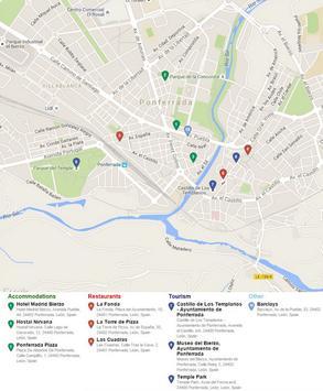 Ponferrada Map apk screenshot
