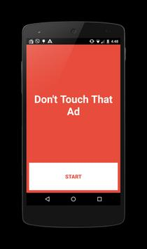 Don't Touch That Ad apk screenshot