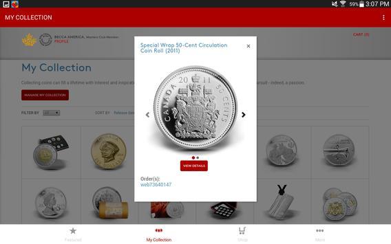 Royal Canadian Mint apk screenshot