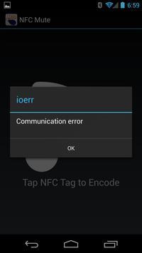 NFC Mute apk screenshot