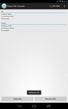 WiFi Direct File Transfer screenshot 3