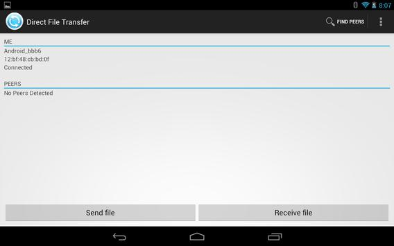 WiFi Direct File Transfer screenshot 4