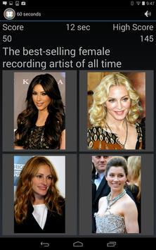 Celebrity Trivia Quiz Game screenshot 4