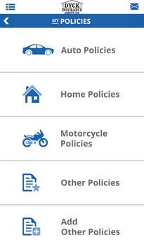 Dyck Insurance Online screenshot 1