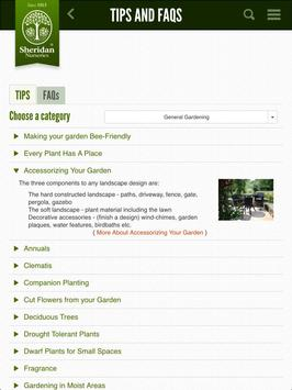 Sheridan Nurseries Garden App apk screenshot