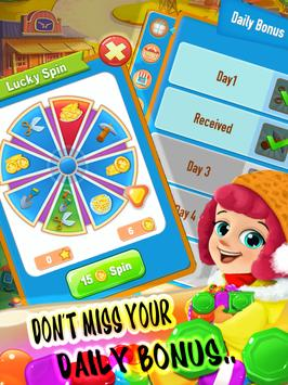 Candies Mix and - Match 3 puzzle Game FREE screenshot 2