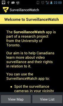 Surveillance Watch poster