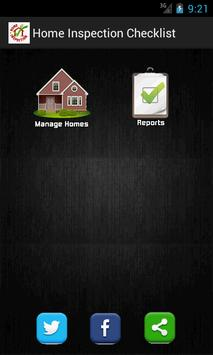 Home Inspection Checklist App poster