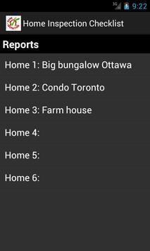 Home Inspection Checklist App apk screenshot