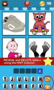 4 Pics 1 Word Kids poster
