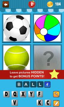 4 Pics 1 Word Kids apk screenshot