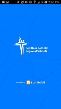 Red Deer Catholic Bus Status poster