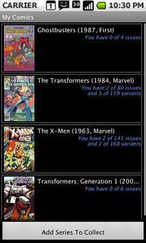 Comic Checklist Lite poster