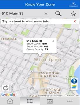 Winnipeg - Know Your Zone apk screenshot