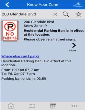 Winnipeg - Know Your Zone screenshot 8