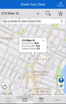 Winnipeg - Know Your Zone screenshot 1