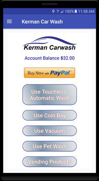 Kerman Car Wash apk screenshot