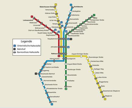 Bielefeld Metro Map screenshot 7
