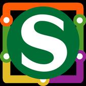 Essen S Bahn Map icon