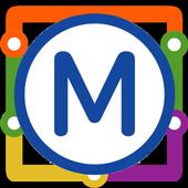Marseille Metro Map icon