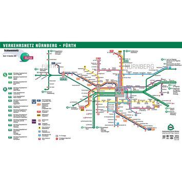 Nuremberg S Bahn Map screenshot 1