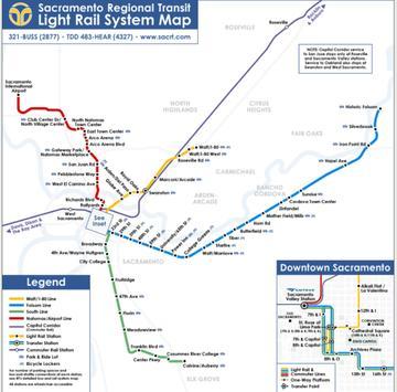 Sacramento Subway Map screenshot 1