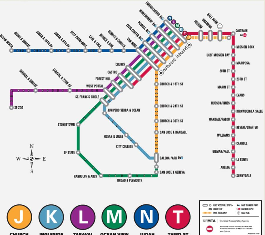 San Francisco Metro Map For Android Apk Download