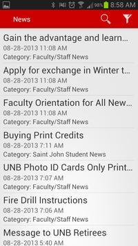UNB apk screenshot
