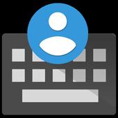 KeyPeeps - Contact Keyboard icon