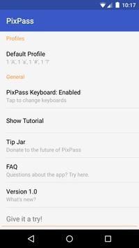 PixPass - Picture Passwords poster