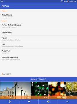 PixPass - Picture Passwords apk screenshot