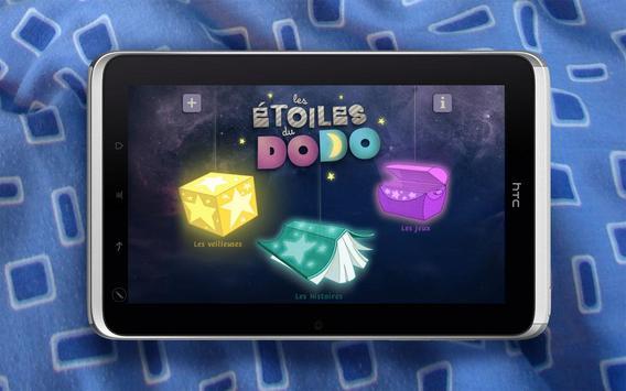 Les Étoiles du dodo - tablette poster
