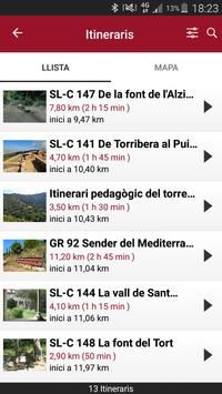 Itineraris Parcs screenshot 2