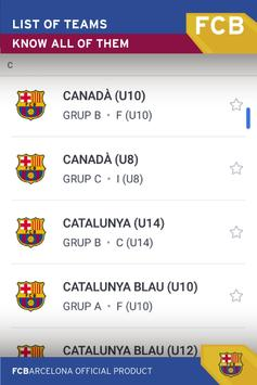 FCBE Torneig apk screenshot