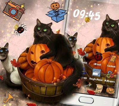 Kitty Pumpkin Theme screenshot 6