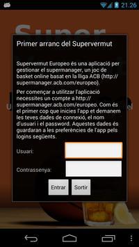 Supervermut Europeo poster