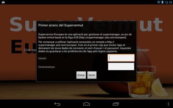 Supervermut Europeo apk screenshot