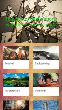 World trip planner - travel test apk screenshot