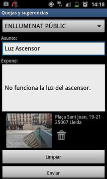 Bústia Suggeriments de Lleida poster