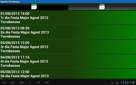 Agenda Torrebesses apk screenshot