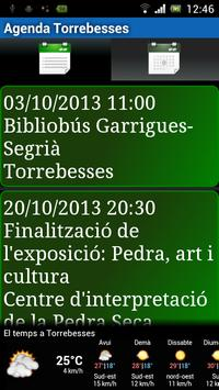 Agenda Torrebesses poster