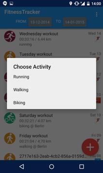 Fitness Tracker apk screenshot
