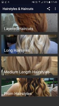Hairstyles & Haircuts screenshot 5