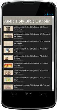 Catholic Audio Bible Free App screenshot 1